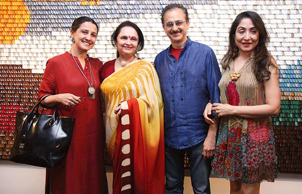 Kahini Arte Merchant, Kalpana Shah, Jaideep and Seema Mehrotra