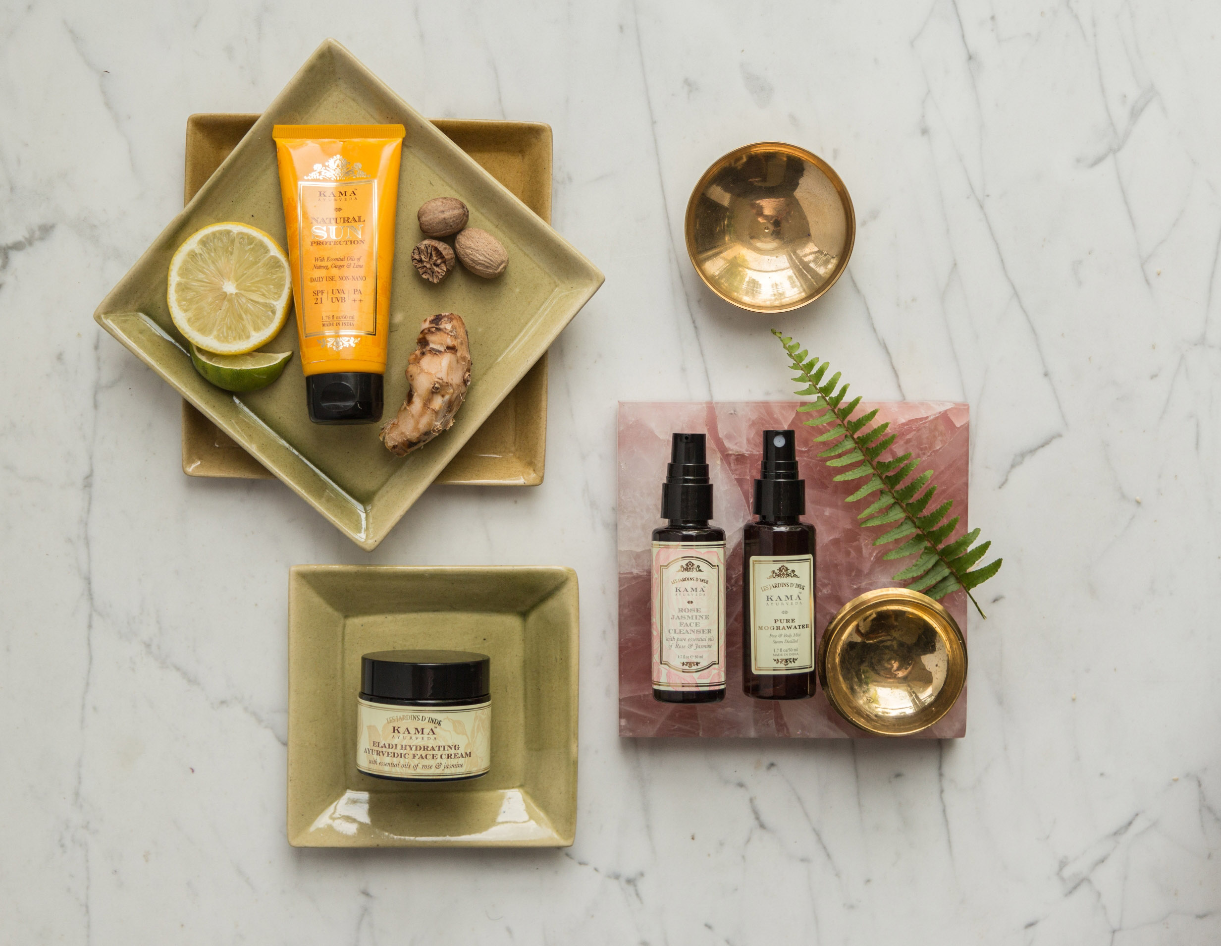 kama ayurveda, beauty, skin care, all natural sunscreen