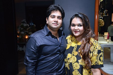 Karan and Chandni Nath Israni