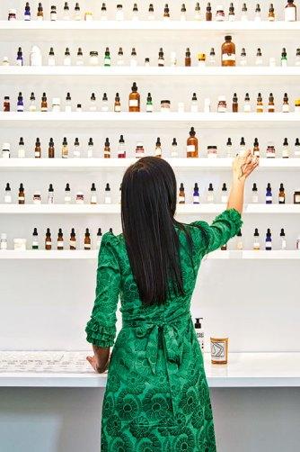 Kavi Ahuja Moltz At The D.S. & Durga flagship store in New York City