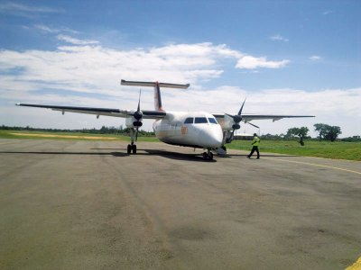 Chartered flight to Diani