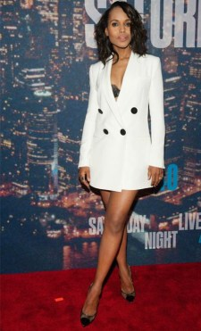 Kerry Washington: For nailing the androgynous look.