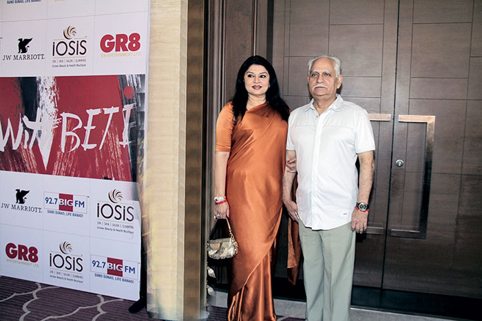 Kiran Juneja and Ramesh Sippy