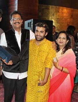 Kunwar Gopal Singh Datia, Akshat Kapoor, Rani Meena Kumari Datia