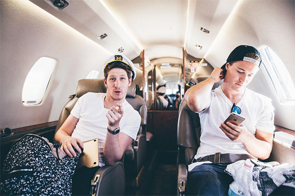 Kygo and his manager, Myles Shear