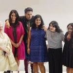 Laila Tyabji, Anita Dongre, Parmesh Shahani, Nisha Susan, Mallika Dua, Sharanya Manivannan at the LFW event on the Godrej India Culture Lab premises, Parmesh Shahani, Parmesh's Viewfinder