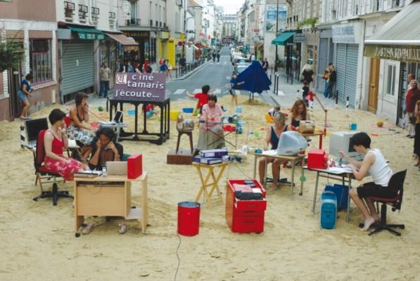 A still from The Beaches of Agnès, a film by Agnès Varda