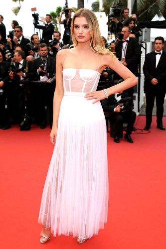 Lily Donaldson in Dior
