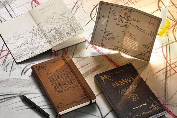 Limited edition Hobbit notebook from Moleskine