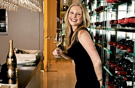 Lindsay Groves: Stylish sommelier