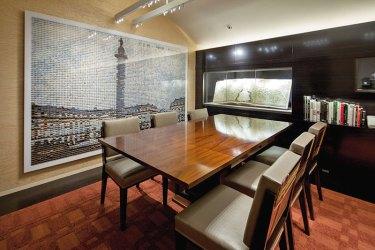 The plush Louis Vuitton apartment