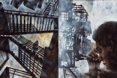 Sekhar Roy, Urban Landscape, 2012