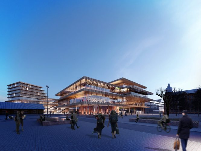 Lund Central - A design proposal to beautify an important station in Sweden