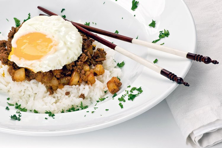 Macanese fried rice