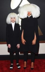 Maddie Ziegler and Sia