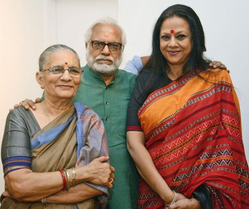 Madhvi and Manu Parekh, Ina Puri