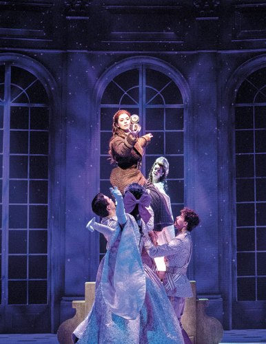A still from the musical Anastasia staged at the Coliseum Theatre