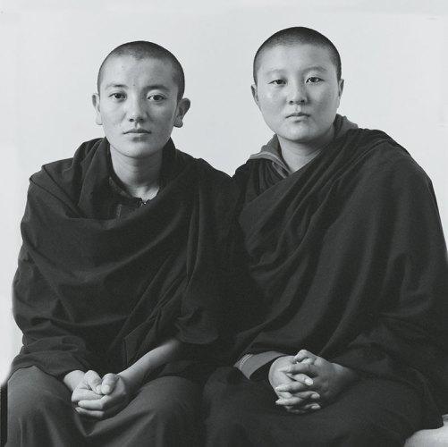Ngawang Choetso and Tsultrim Dolma, from the Majnu Ka Tilla Diaries, Delhi, 2009