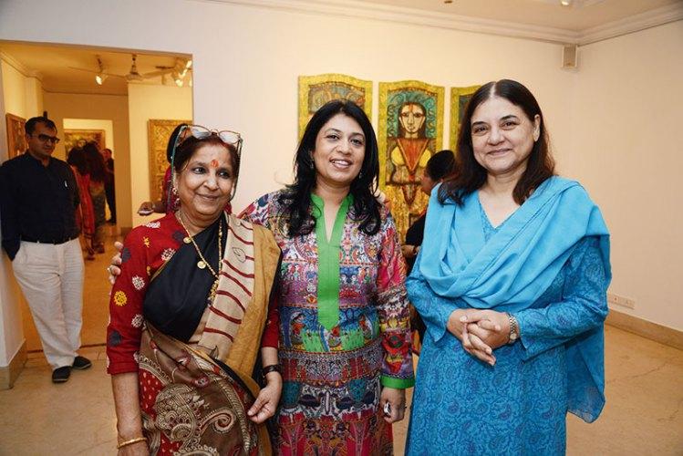 Rini Dhumal, Sunaina Anand, Maneka Gandhi