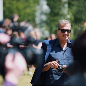 Mario Testino at Burberry