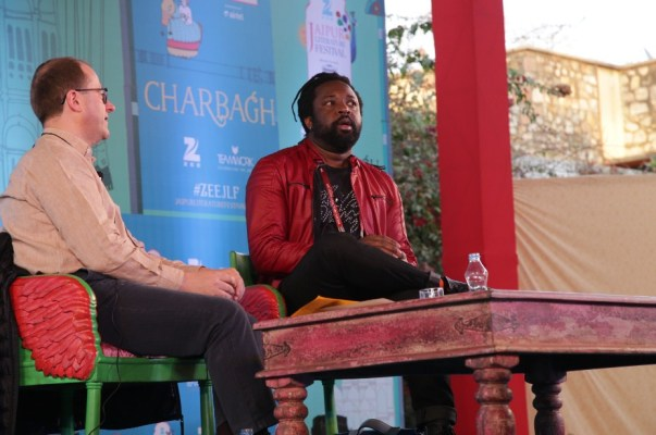 Patrick French and Marlon James
