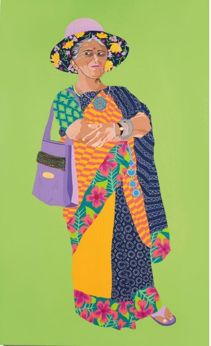 Gunalaxsmi Aunty, from the upping the Aunty series