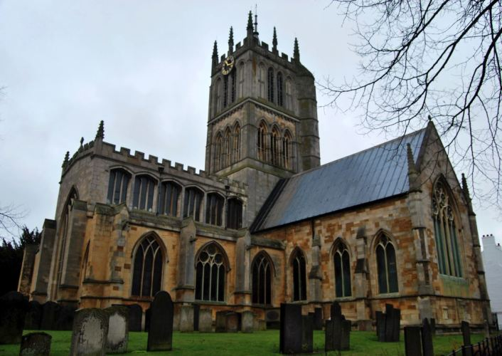 Melton Mowbray's church