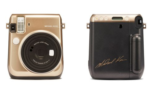 Michael Kors X Fujifilm instax camera