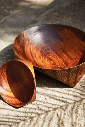 Topologic Bowls, from Casegoods.