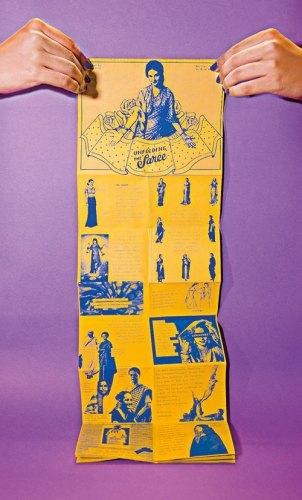 Unfolding the Saree, Print on Paper