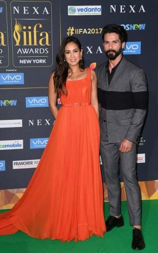 Mira Rajput Kapoor in Swapnil Shinde & Shahid Kapoor in Anju Madan