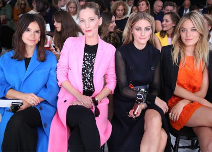 Miroslava Duma, Lucie de la Falaise, Olivia Palermo, Camille Rowe