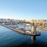 The port of Ceuta, Morocco