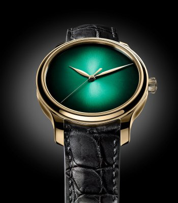 H. Moser & Cie Endeavour center seconds cosmic green