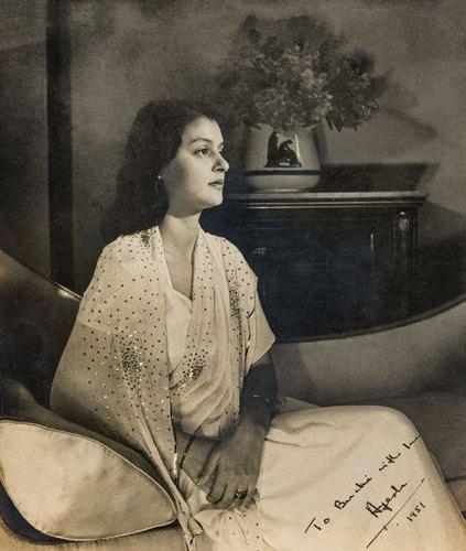 Maharani Gayatri Devi of Jaipur, née Princess Ayesha of Cooch Behar