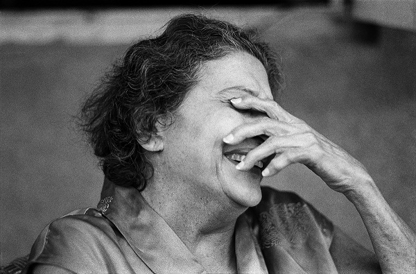 My grandmother, Bombay 1980