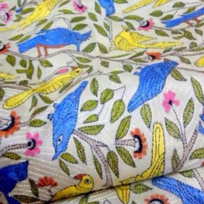 Nakshi Kantha embroidery