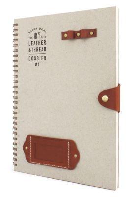 Tan dossier from Nappa Dori
