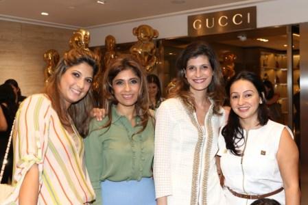 Nayntara Thacker, Roohi Jaikishan, Farah Oomerbhoy, Penny Patel