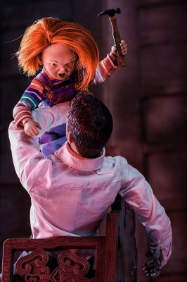 Chucky from Child's Play (an exclusive image for this interview)