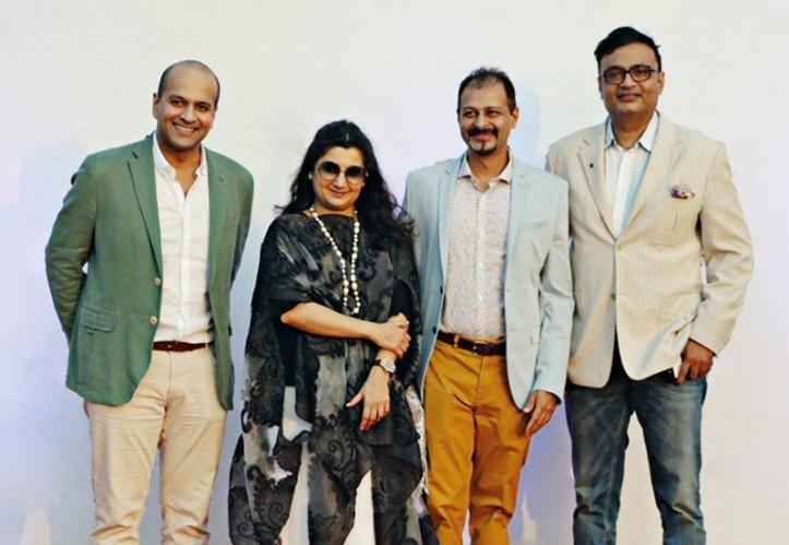 Neeraj Govil, Gayatri and Atul Ruia, Anuraag Bhatnagar