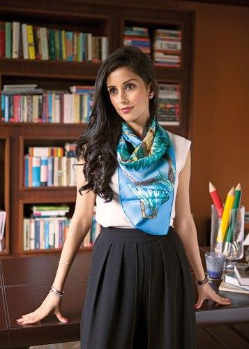 Neha Hiranandani: erudite elegance