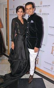 Neha and Pranay Mehta