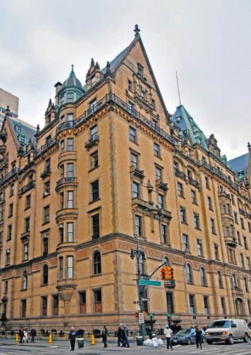 The Dakota (seen in Rosemary's Baby)