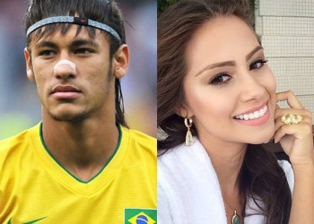 Neymar and Gabriella Lenzi