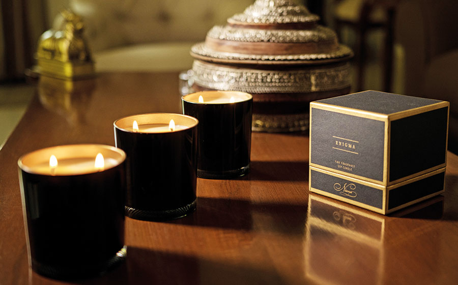 Enigma, Luminous, Niana, luxury candles
