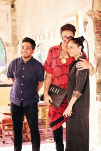 Nimish Shah, Parmesh Shahani and Sabina Chopra