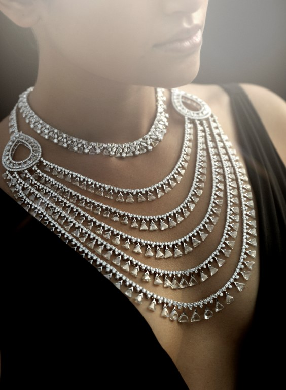 maharani diamond necklace Nirav modi store new york city madison avenue shop