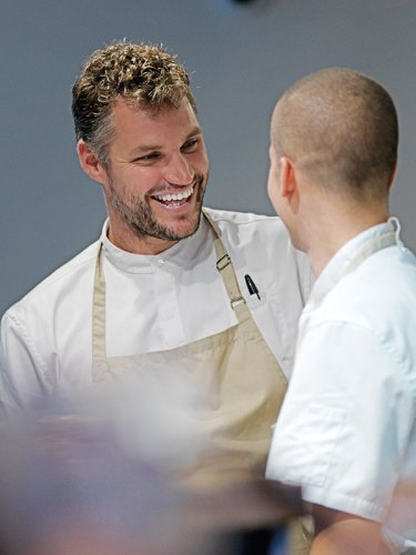 Chef Beau Clugston. Photograph by Jason Loucas
