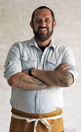 Chef Richard Hart. Photograph by Jason Loucas